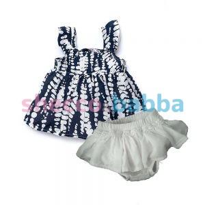 Bebek Elbise Şort Takım