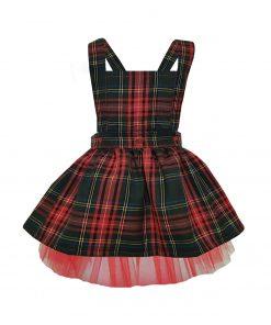 Kırmızı Bebek Elbisesi