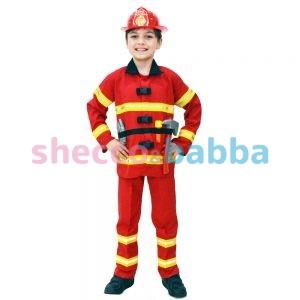 İtfaiyeci Çocuk Kostümü Çocuk Meslek Kostümleri