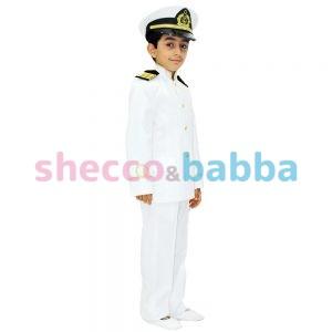 Çocuk Kaptan Kostümü