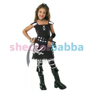 Korsan Kız Çocuk Kostümü, Cadılar Bayramı
