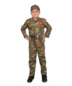 Çocuk Asker Kostümü