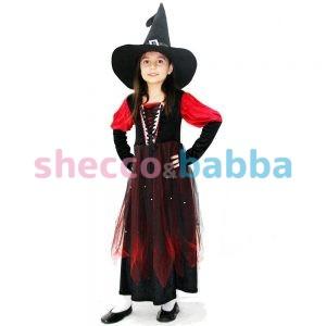 Çocuk Cadı Kostümü