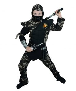 Askeri Komando Ninja Çocuk Kostümü: