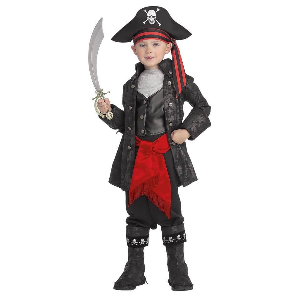 kara inci korsan çocuk kostümü