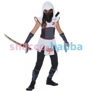Casus Çocuk Ninja Kız Kostümü