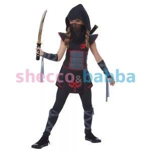Casus Ninja Kız Çocuk Kostümü