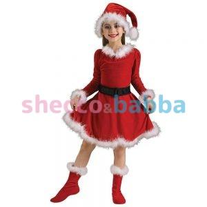 Çocuk Noel Anne Kostümü