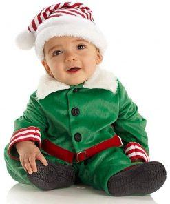 Yılbaşı Bebek Elf Kostümü