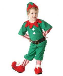 Elf Çocuk Yılbaşı Kostümü
