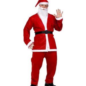 Yetişkin Noel Baba Kostümü