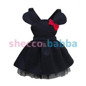 Kız Bebek Elbisesi Sİyah Tütü
