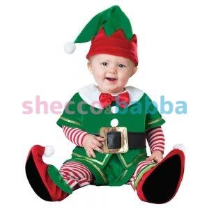 Noel Bebek Elf Kostümü