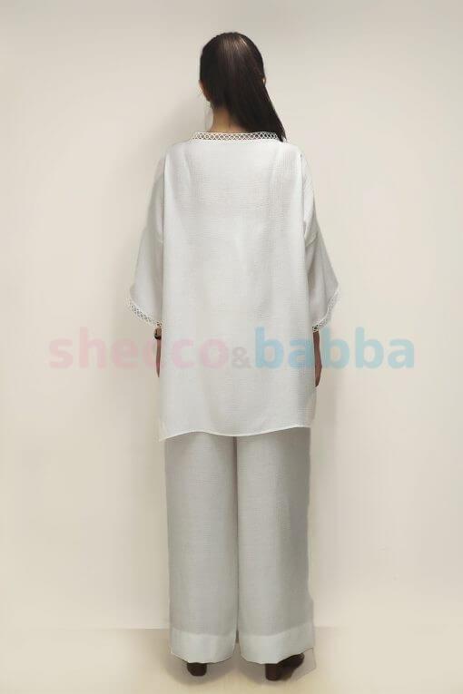 Kadın Beyaz Kimono