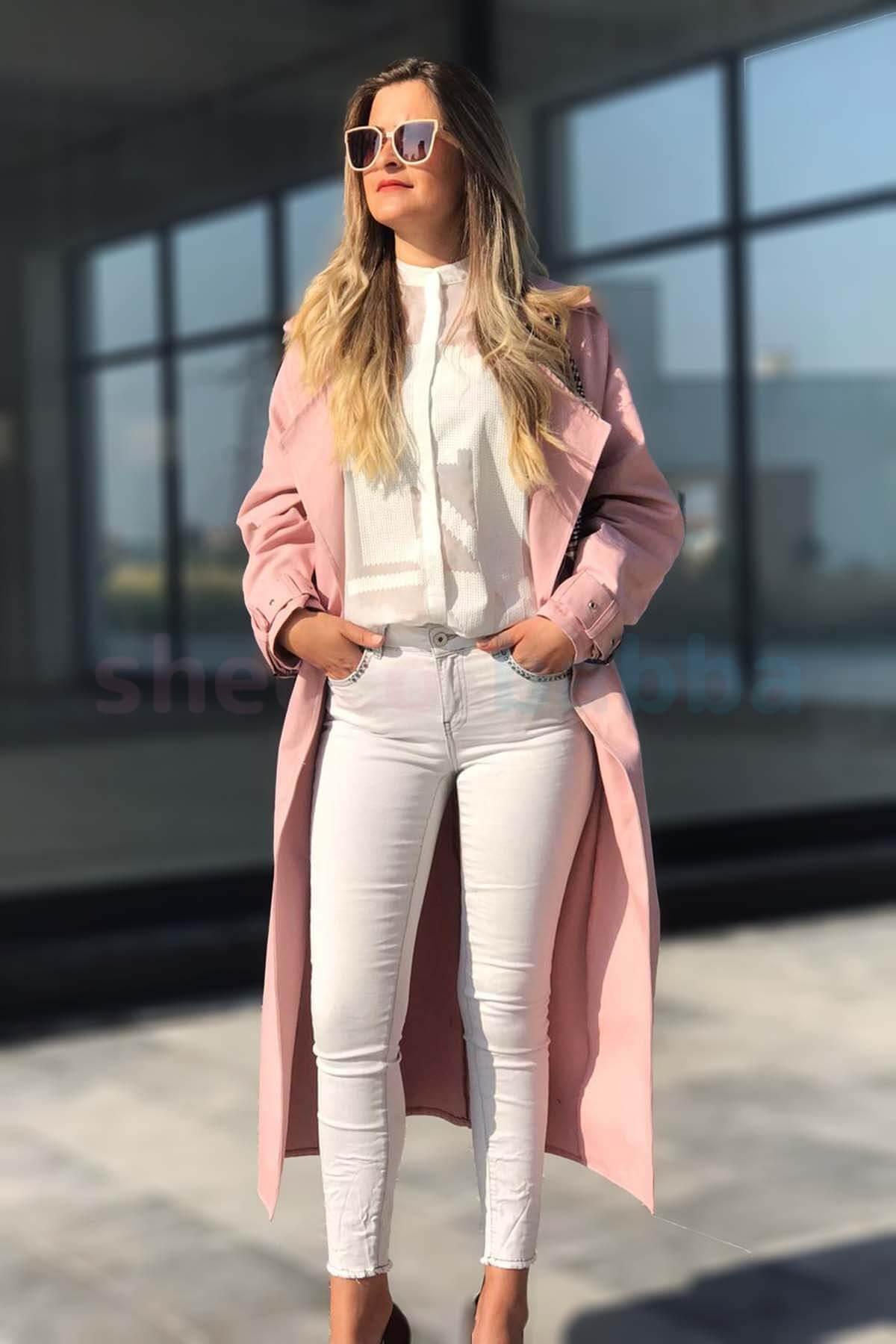 Kadın Uzun Trençkot