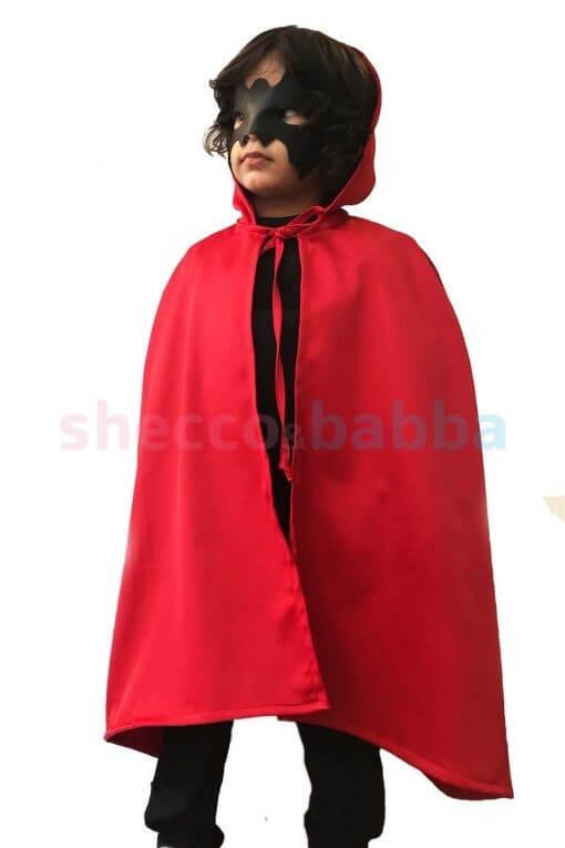 Cadılar Bayramı Çocuk Pelerin Kırmızı Pelerin