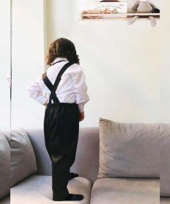 Harem Pantolon Papyon Takım Siyah3