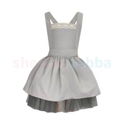 Kız Çocuk Salopet Elbise